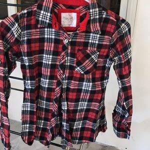 Justice Flannel Shirt
